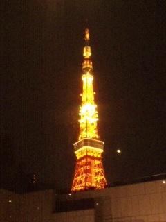 東京タワーのふもと